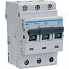 Автоматический выключатель 3п, D-50А, 10 kA, 3м Hager