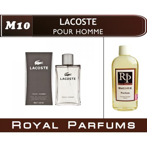 Духи на разлив Royal Parfums M-10 «Pour Homme» от Lacoste (replica)