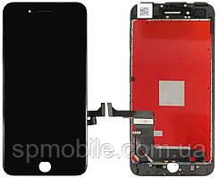 Дисплей iPhone 7 Plus, черный, с рамкой, с сенсорным экраном, high-copy