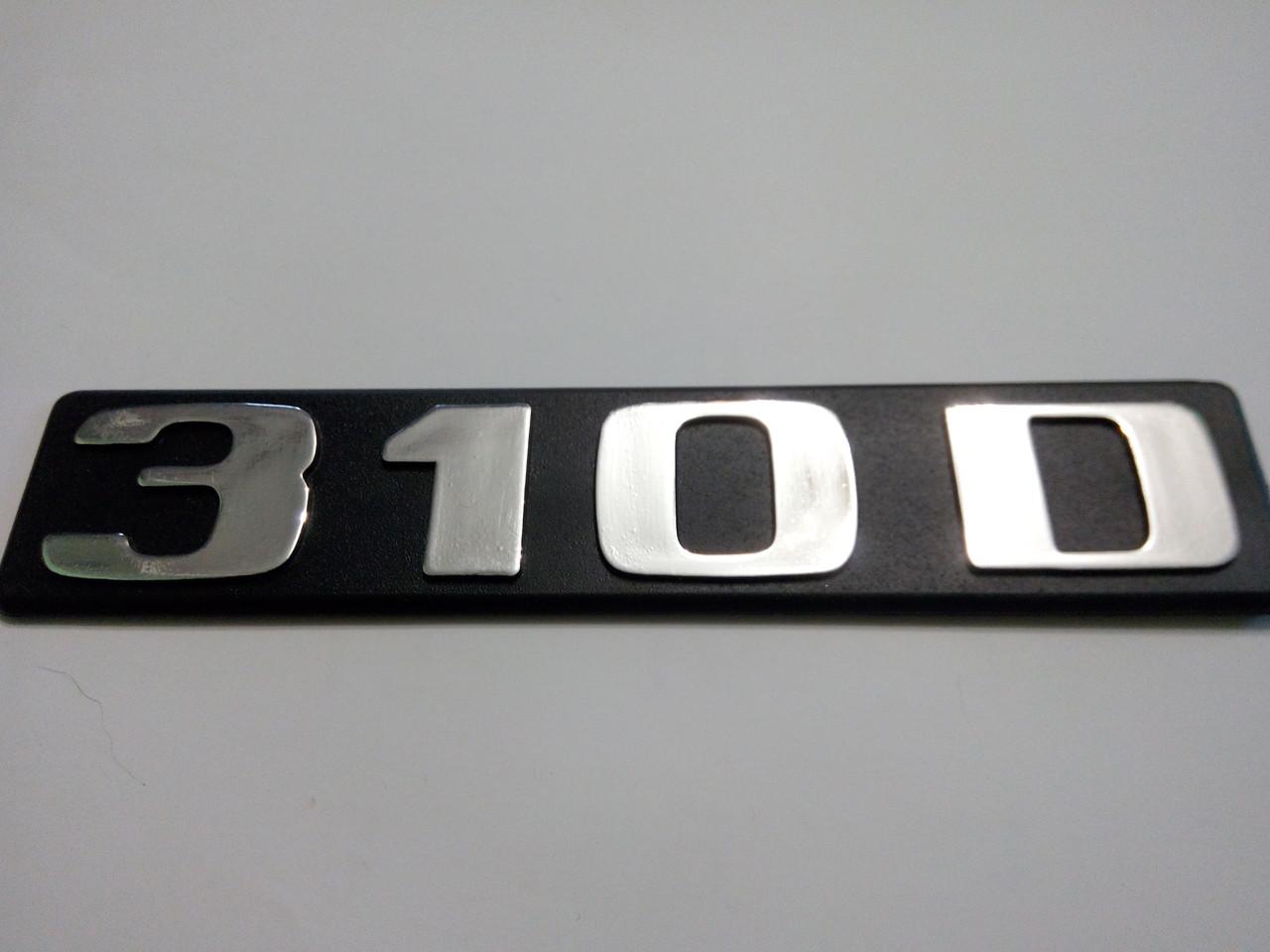 Надпись mercedes 310 d