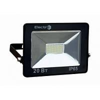 Прожектор светодиодный EL-SMD-01, 20Вт, 180-260В, 6400K, 1600Lm, IP65, ElectrO