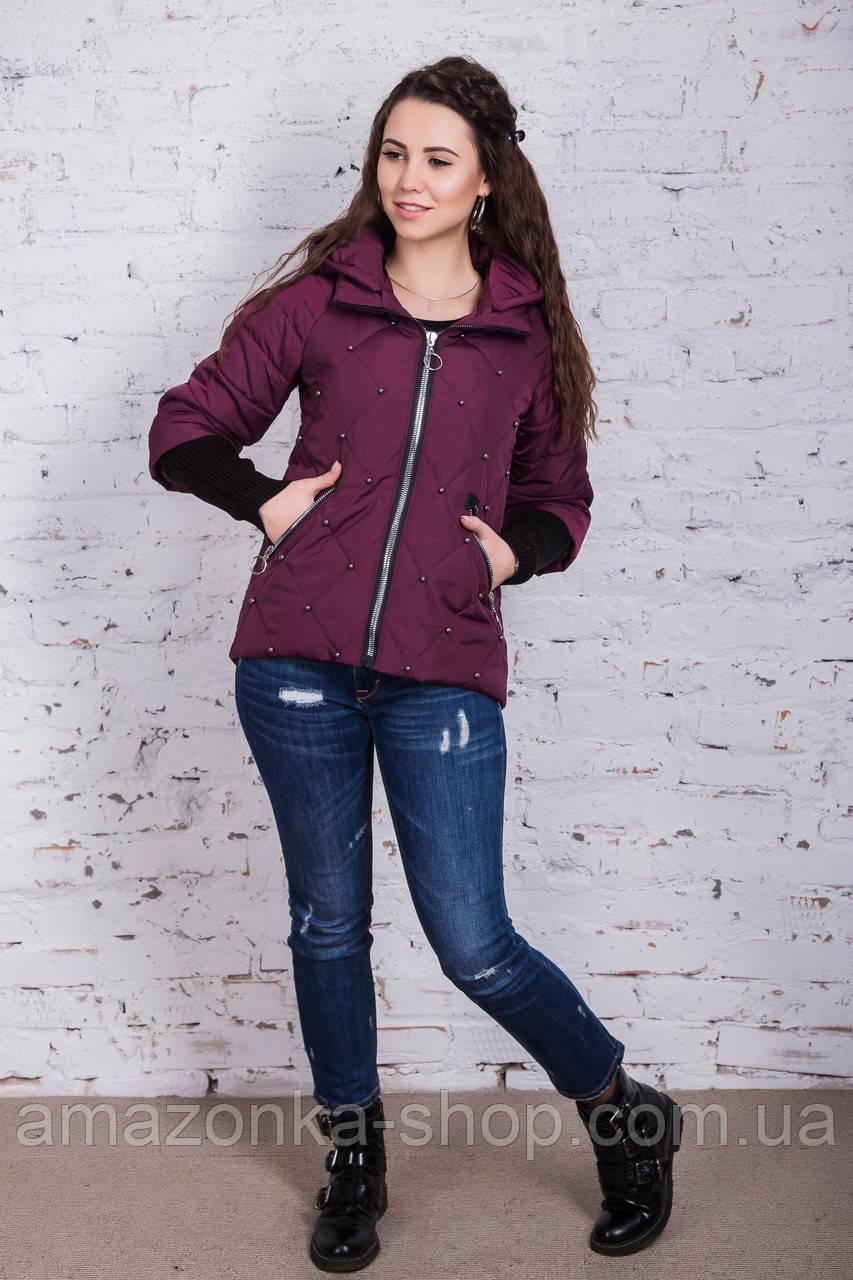 Молодежная куртка для девушек на весну модель 2018 - (кт-266)