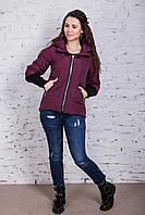 Молодежная куртка для девушек на весну модель 2018 - (арт кт-266)