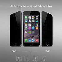 Защитное стекло ANTI SPY для iPhone 6 / 6s (с фильтром конфиденциальности) матовое