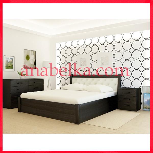 Кровать деревянная  Лас Вегас   с подъёмным механизмом  (Анабель)