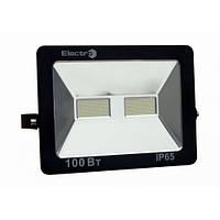Прожектор светодиодный EL-SMD-01, 100Вт, 180-260В, 6400K, 8000Lm, IP65, ElectrO, фото 1