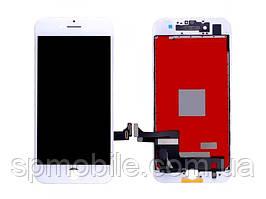 Дисплей iPhone 7, белый, с рамкой, с сенсорным экраном, high-copy