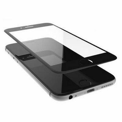 Копия Защитное стекло 3D для телефона iphone 6 / 6s - черный