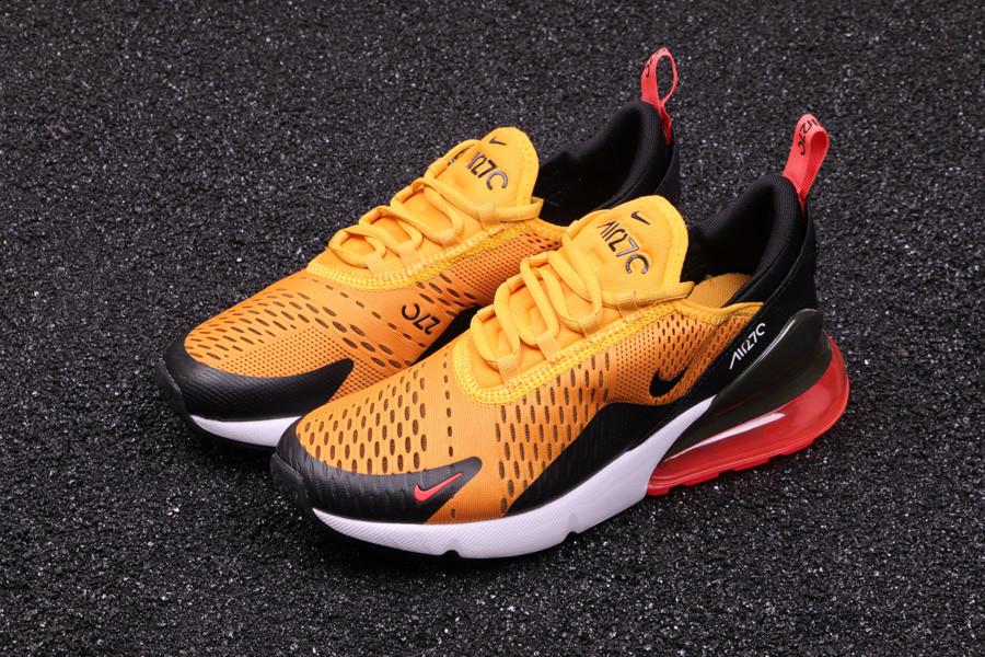"Кроссовки Nike Air Max 270 ""Orange/Black/White/Red"""