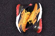 "Кроссовки Nike Air Max 270 ""Orange/Black/White/Red"", фото 2"