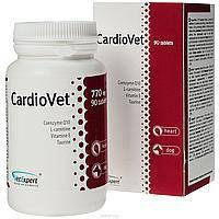 VetExpert CardioVet 90 таб- для собак страдающих кардиомиопатией и эндокардиозом (58457), фото 2