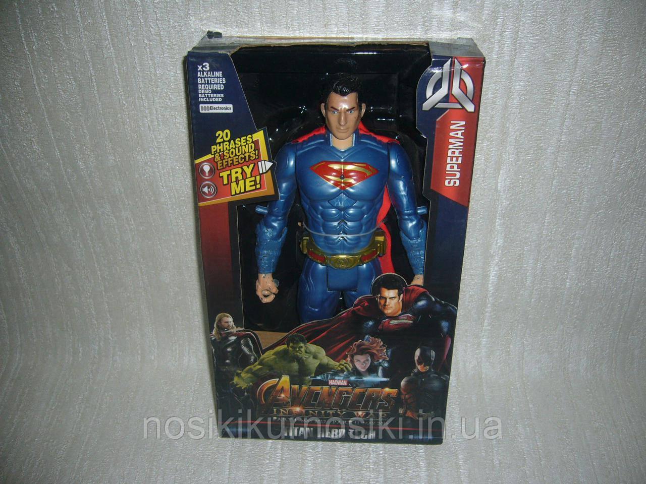 Супергерой Супермен (Superman) Titan Hero Tech