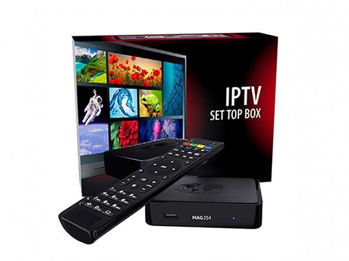 Телевизионная приставка IP-TV MAG322/323