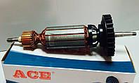 Якорь (ротор) для УШМ болгарки DeWALT 28136 ( 198.5*35 посадка 7 )