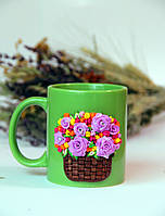 Чашка Весенний букет