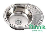 Мойка кухонная Kraft M5745_0,8 mm (матовая)