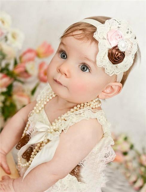 Повязки на голову для детей , ажурные повязки