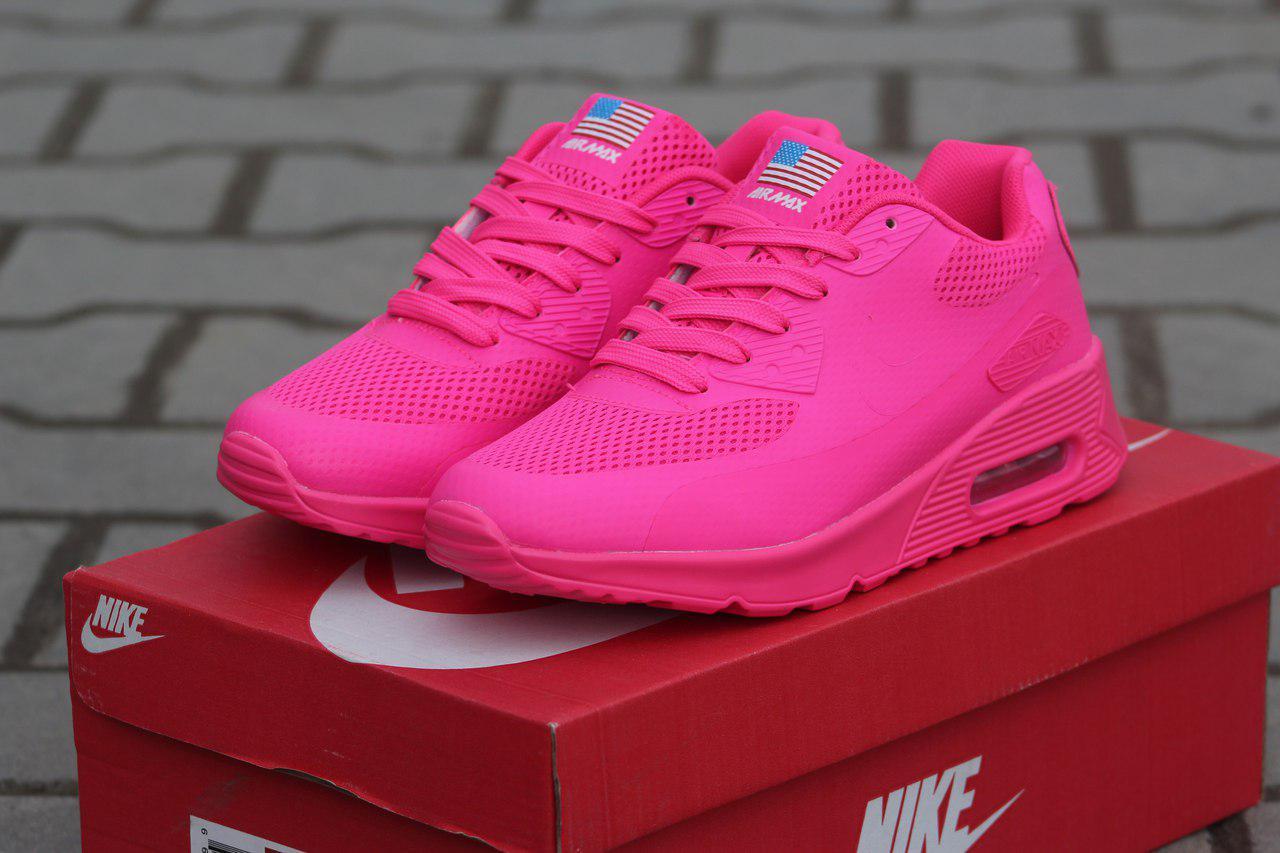 ... Кроссовки женские ярко розовые Nike Air Max Hyperfuse 4672, ... cheap  2018 sneaker ... a92621aa657