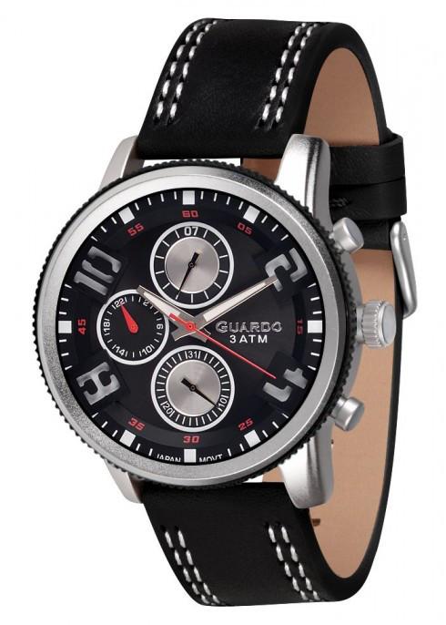 Мужские наручные часы Guardo P11097 SBB