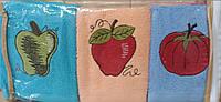Кухонний набір рушників BEAUTIFUL ROSE махра (6 шт.) 30х50