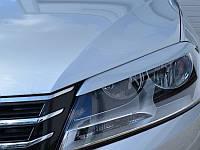Реснички на фары VW Passat B7