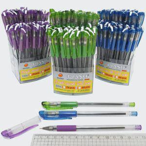 """Ручка шариковая масляная """"Piano"""" синяя в стойке, фото 2"""