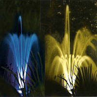 "Фонтана насадка ""Каскад"" з кольоровою ілюмінацією + сенсор, фото 1"
