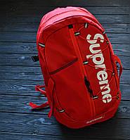 Рюкзак Supreme red. Живое фото. Топ качество (Реплика ААА+)