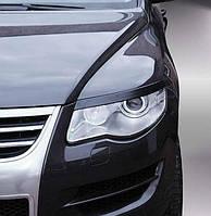 Реснички на фары VW Touareg 2007-2010
