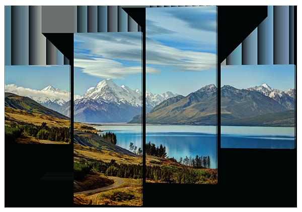 Модульная картина Горы.Природа