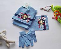 Набор шапка, шарфік та рукавички Disney