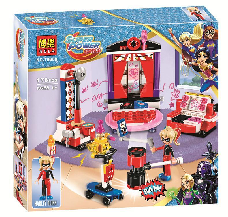 """Конструктор Bela 10668 (реплика Lego DC Super Hero Girls 41236) """"Дом Харли Квинн"""", 178 дет"""