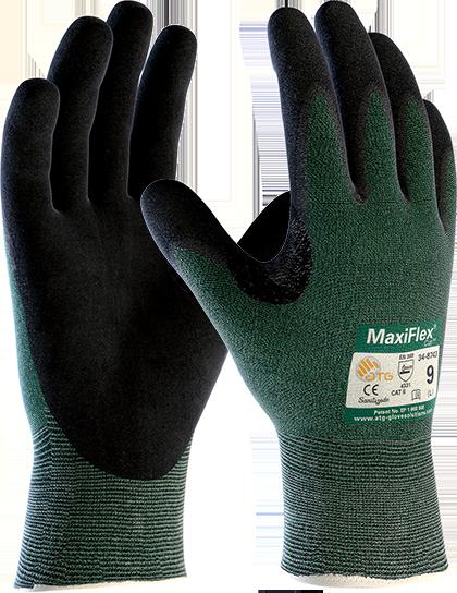 Перчатки с защитой от порезов 3-го уровня MaxiFlex® Cut™ 34-8743