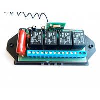 Радиоуправляемое реле SOKOL F-4/10. Работает от сети 220 В, имеет четыре реле, питание нагрузки до 10 А , фото 1