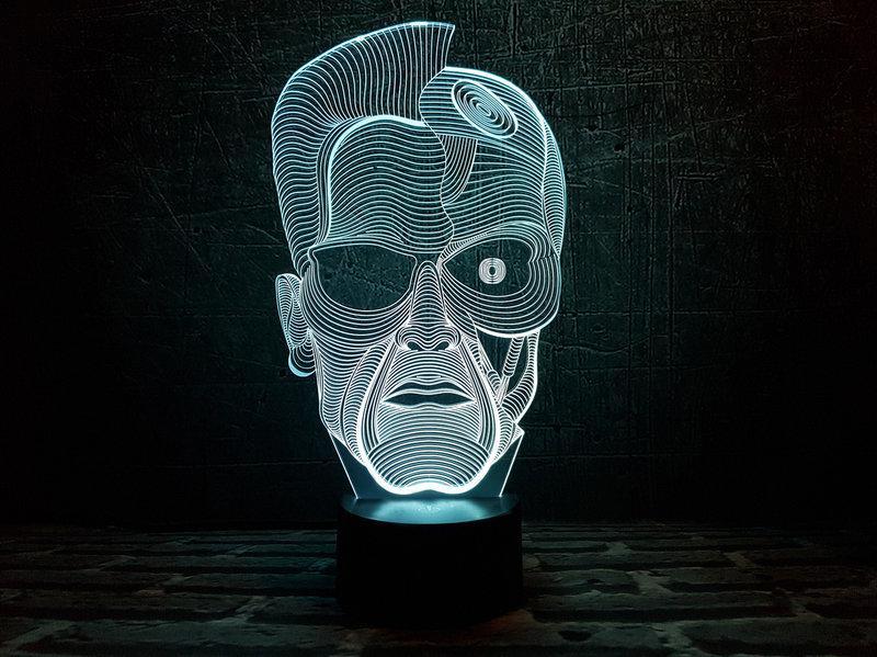 """3D Светильник """"Терминатор"""""""