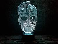 """3D Светильник """"Терминатор"""", фото 1"""