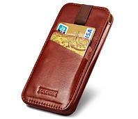 Кожаный чехол ручной работы Icarer Vintage для iPhone 6/6S plus