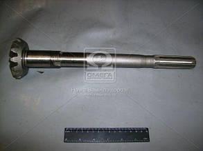 Вал вертикальный (короткий шлиц ) МТЗ (производство  МТЗ). 52-2308063. Ціна з ПДВ.