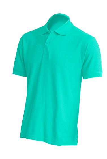 Мужская футболка-поло JHK POLO REGULAR MAN цвет светло-зеленый