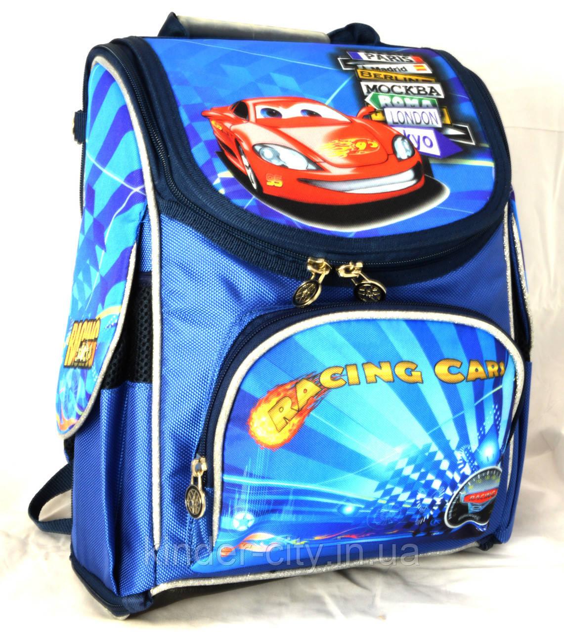 Рюкзак шкільний VOMBATO 1501 Тачки