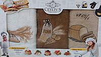 Кухонный набор полотенец VIANNA махра (3 шт.) 30х50
