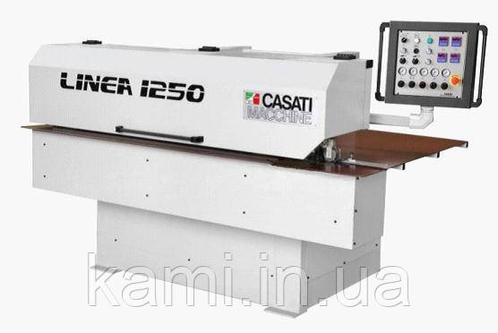 Ребросклеивающий верстат для поздовжнього зрощування шпону CASATI LINEA1250 PLUS
