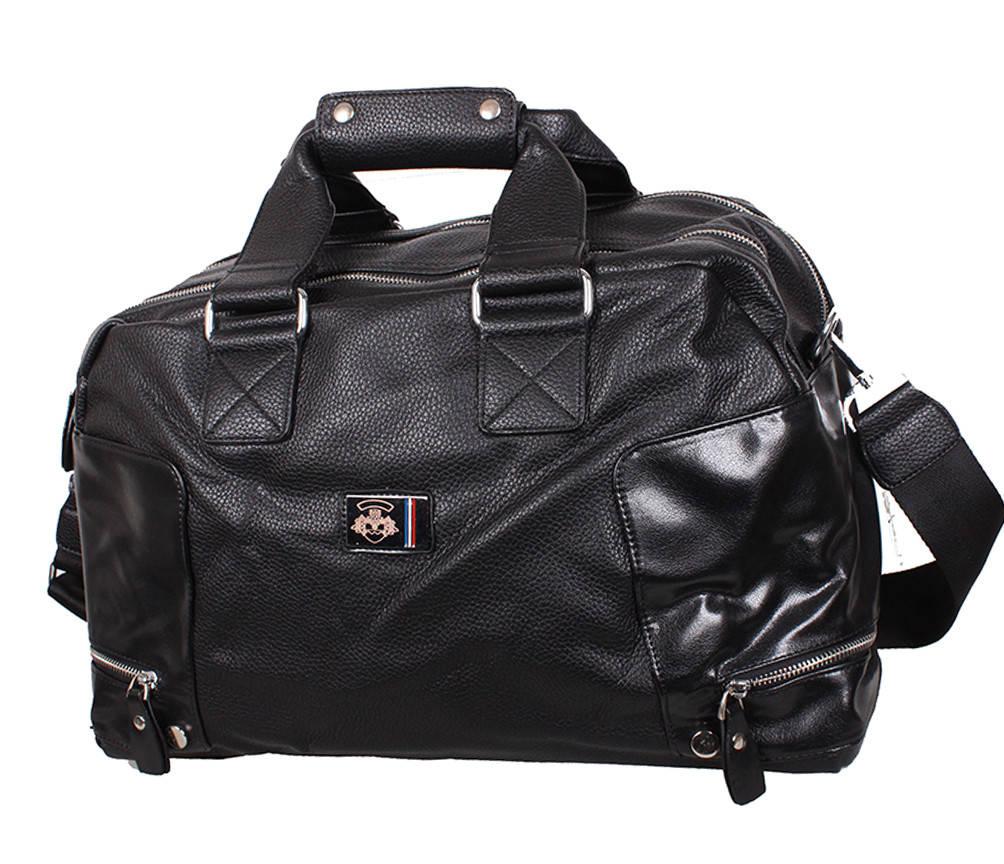 Дорожная сумка с эко кожи