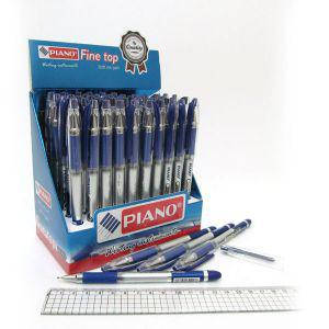 "Ручка шариковая масляная ""Piano"" ""Sagacios"" синяя, фото 2"