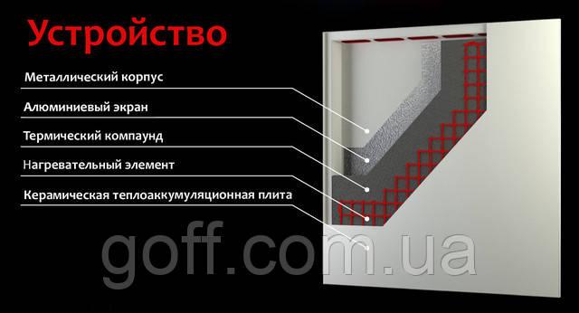 Устройство обогревателя OPAL