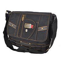 Мужская брезентовая сумка через плечо Gold Be