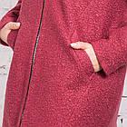 Женское весеннее пальто из букле сезона весна 2018 AMAZONKA - (рр-90), фото 3