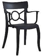 Кресло Papatya Opera-K черное сиденье