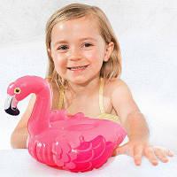 Надувная детская игрушка Розовый пеликан Intex