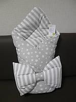 Одеяло-конверт с подушкой ТМ Happy Tot